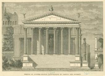 Descubierto en Roma el primer templo de Júpiter Stator | LVDVS CHIRONIS 3.0 | Scoop.it
