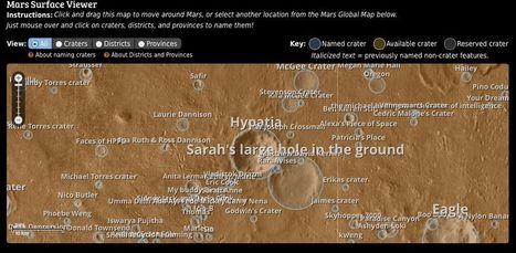 Private Martian Colony Project to Use New 'People's Map of Mars' | Geospatial Pro - GIS | Scoop.it