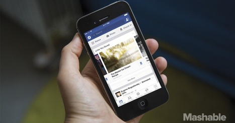 Facebook Steps Up News Game With Save for Later Feature | Green Girl Around Town | Scoop.it