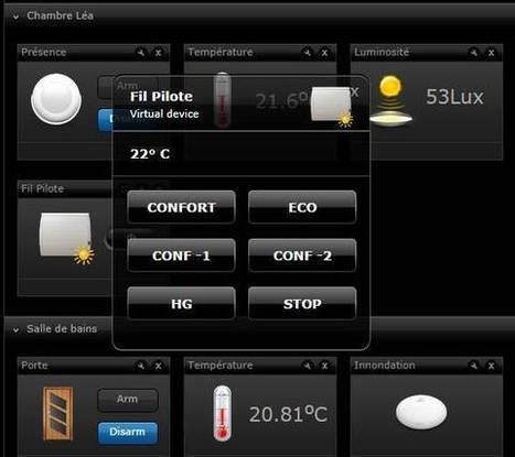 Ajoutez un module Z-wave Fil Pilote à votre radiateur électrique | Soho et e-House : Vie numérique familiale | Scoop.it