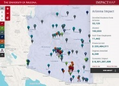 A New Way to Visualize the UA's Statewide Impact | UA@Work | CALS in the News | Scoop.it