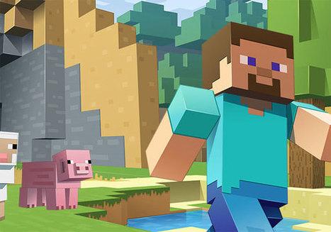 Minecraft Edition Education le jeu vidéo entre à l'école | Formation en ligne et à distance | Scoop.it
