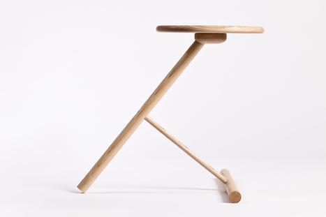 Cette petite table W3 de Nicolai Gulliksen est faite à la main. | Du mobilier, ou le cahier des tendances détonantes | Scoop.it