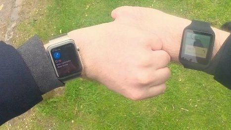 Apple v Android: Which watch wins after week of wear? - BBC News | FOTOTECA LEARNENGLISH | Scoop.it