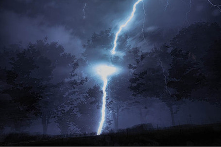 One in a Million Double-Exposure Photo Caused by a Lightning Strike | Photographer's Guide | Scoop.it