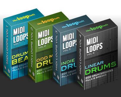 3 of the Best Midi Drum Loop Packs at The Loop Loft | Djing and Music Producing | Scoop.it