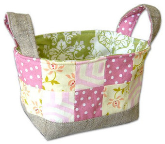Pink Penguin: Tutorial: Fabric Basket | Baby Cool Stuff (from others) | Scoop.it