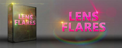Custom Lens Flares Pack – 50 Free High Resolution Transparent Images | Media Militia | lol | Scoop.it