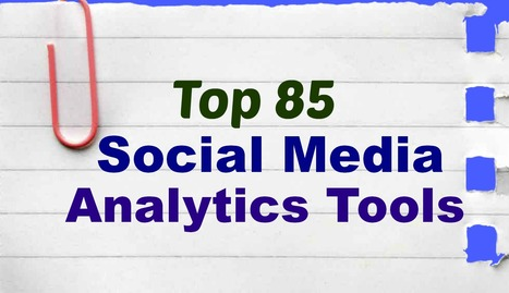 Top 85 Social Media Analytics Tools List (31 - 45) | Online Writing Tips | Scoop.it