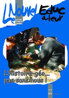 L'histoire-géographie à la sauce Freinet, c'est dans le Nouvel Educateur n°211 | Enseigner l'Histoire-Géographie | Scoop.it
