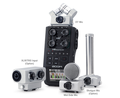 Zoom H6 Handy Recorder Announced | Photography at large | Scoop.it