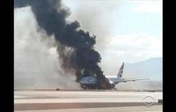 Plane catches fire on Las Vegas runway | Xposed | Scoop.it