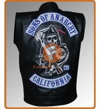Sons Of Anarchy Charlie Hunnam (Jax Teller) Motorcycle Leather Vest | Movie Jacket | Scoop.it