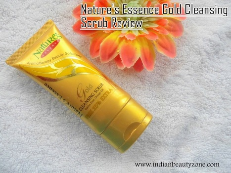 Nature's Essence Gold Cleansing Scrub Review | Indian Beauty Zone | Indian Beauty Zone | Scoop.it