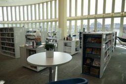 La bibliothèque Canopée la fontaine   Association Accomplir   Quartier des Halles - et un peu plus autour de la Canopée...   Scoop.it