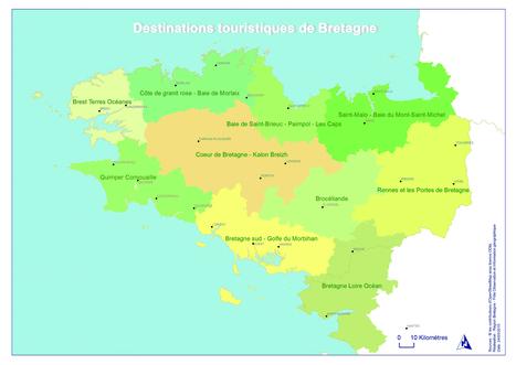 Veille info tourisme - Lancement de la nouvelle carte touristique de la Bretagne   tourisme   Scoop.it