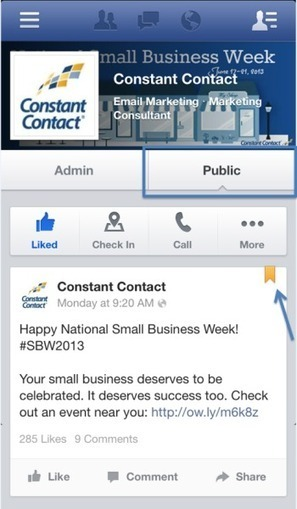 4 Facebook Mobile Marketing Tips for Small Businesses | social: who, how, where to market | Scoop.it