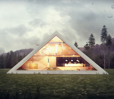 La maison pyramide, tendance de demain ? | Solutions pour l'habitat | Ma maison | Scoop.it