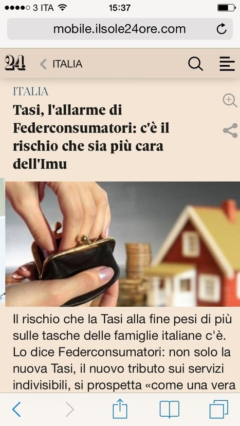 Nuovo sito mobile per sole24.com. Accesso illimitato solo agli ... - Engage | Mobile Marketing | Scoop.it