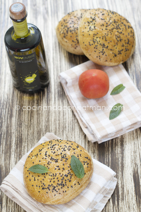 Panecillos tunecinos. Receta | CocinandoconCatMan.com | Re Coquinaria | Scoop.it