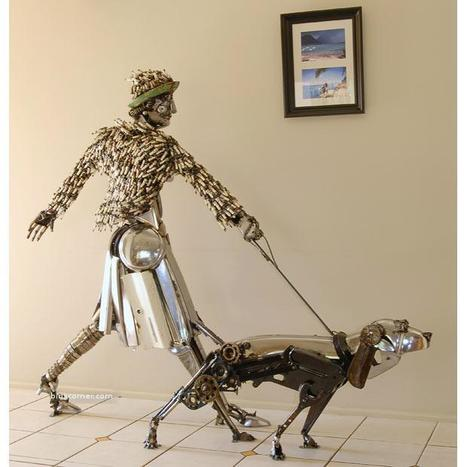 Spectacular Auto parts art - Amazing | Art Works | Scoop.it