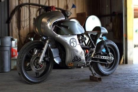 Honda CM400 by Junior Burrell | ClassyEdgyWildWheels: bikes, motorbikes & automobiles | Scoop.it
