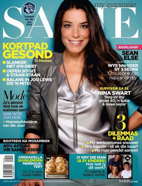 Nina Swart SARIE Magazine cover February 2014 HQ Scans - magazine-photoshoot | Magazine Photoshoot | Scoop.it