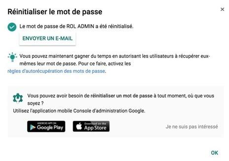 Autorécupération du mot de passe Google | Google Apps  (FR) | Scoop.it