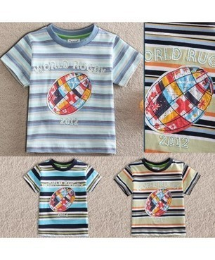 Cheap Baby Wear Striped Ball Print Short Sleeve Casual Basic Kids Clothing wholesale at Sma-star.com | Clothing at SMA-STAR | Scoop.it