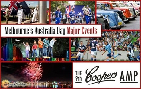 Australia Day Celebrations in Melbourne | Getaway Holidays Blog | Travel Guide, Tips and Trivia | Scoop.it