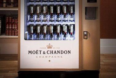 Lancement du 1er distributeur automatique de Champagne ! - Magazine du vin - Mon Vigneron | Actualités du Vin | Scoop.it