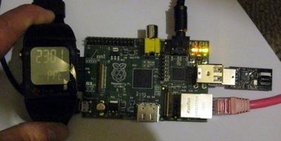 Ti Chronos watch controls Raspberry Pi   Raspberry Pi   Scoop.it