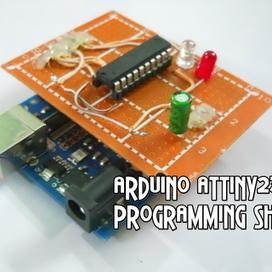 Arduino ATtiny2313 Programming Shield | dream. design. make. | Scoop.it