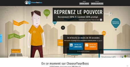 Choose Your Boss : recrutement pour les IT fait par des IT | formation 2.0 | Scoop.it