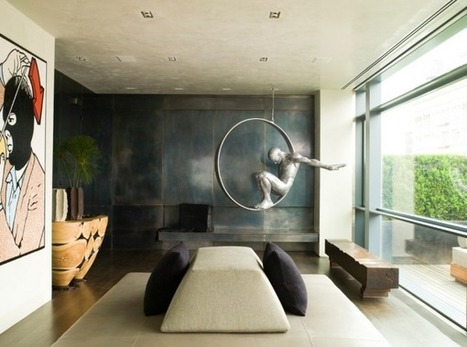 12 Rooms that Showcase Sculpture - Design Milk | Designing Interiors | Scoop.it