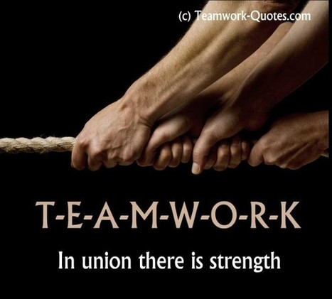 25 Motivational Teamwork Quotes | rapidlikes.com | Creating High Performance Teams | Scoop.it