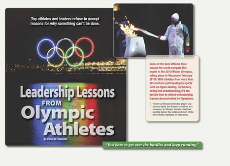 Toastmasters International - Leadership Lessons from Olympic Athletes | #BetterLeadership | Scoop.it