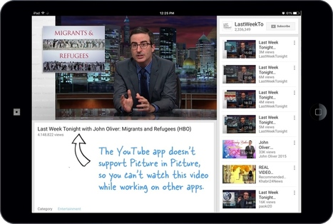 How to Watch YouTube Videos with Picture-in-Picture on your iPad | Educational technology , Erate, Broadband and Connectivity | Scoop.it