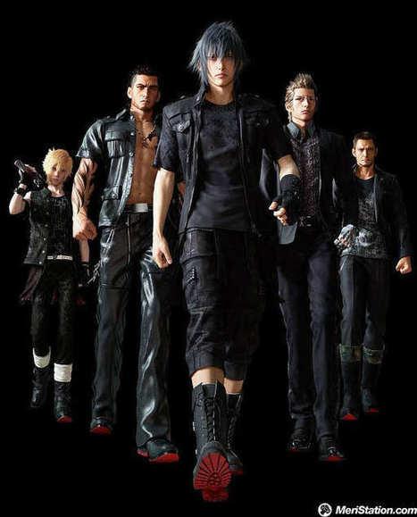 Final Fantasy XV, detalles de los personajes - MeriStation   VideoGames   Scoop.it