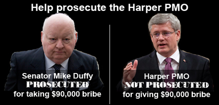 Harper PMO Prosecution Fund | Democracy Watch | The Peoples News | Scoop.it