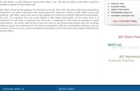 Richa's Lists | StumbleUpon.com | Online Coaching For JEE and AIPMT Entrance Examination | Scoop.it