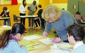 L'écriture dans tous ses états dévoilée aux enfants - L'Est Eclair | La Faim de l'Histoire | Scoop.it