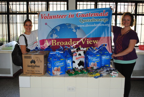 """Abroaderview Donations Guatemala Xela, Elderly Care Center Program. 