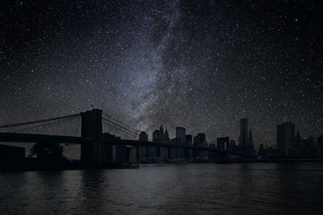 Photographer Imagines What World Cities Would Look Like Without Lights   Digital-News on Scoop.it today   Scoop.it