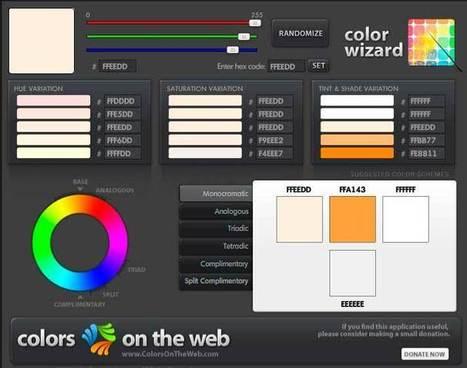 Web design: scegliere lo schema di colori | Eugenio Corrao Web Design | Web Design - Francesco Baiocchi | Scoop.it