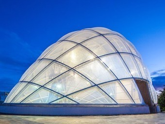Dewdrop inflatable energy-efficient greenhouse responds to its environment | Vertical Farm - Food Factory | Scoop.it