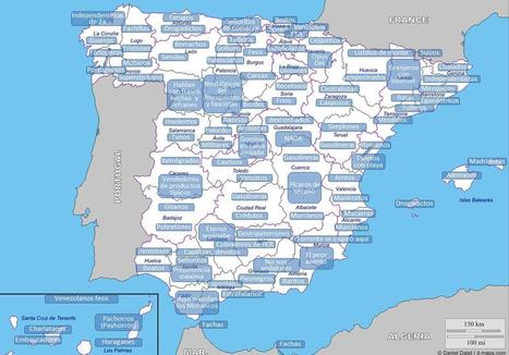 Mapa de estereotipos de España | traductor ruso | Scoop.it