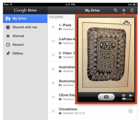 Apps in Education: Video inside your Google Drive App | Tech in Education | Scoop.it
