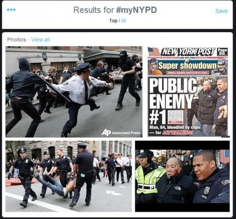 NYPD Twitter #myNYPD Campaign Goes Horribly Wrong | Criminal Justice in America | Scoop.it