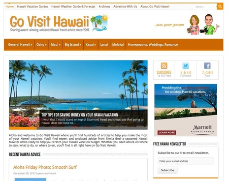 Hawaii Travel Guide & Vacation Tips | Go Visit Hawaii | Elli Travel Blogs We Follow | Scoop.it